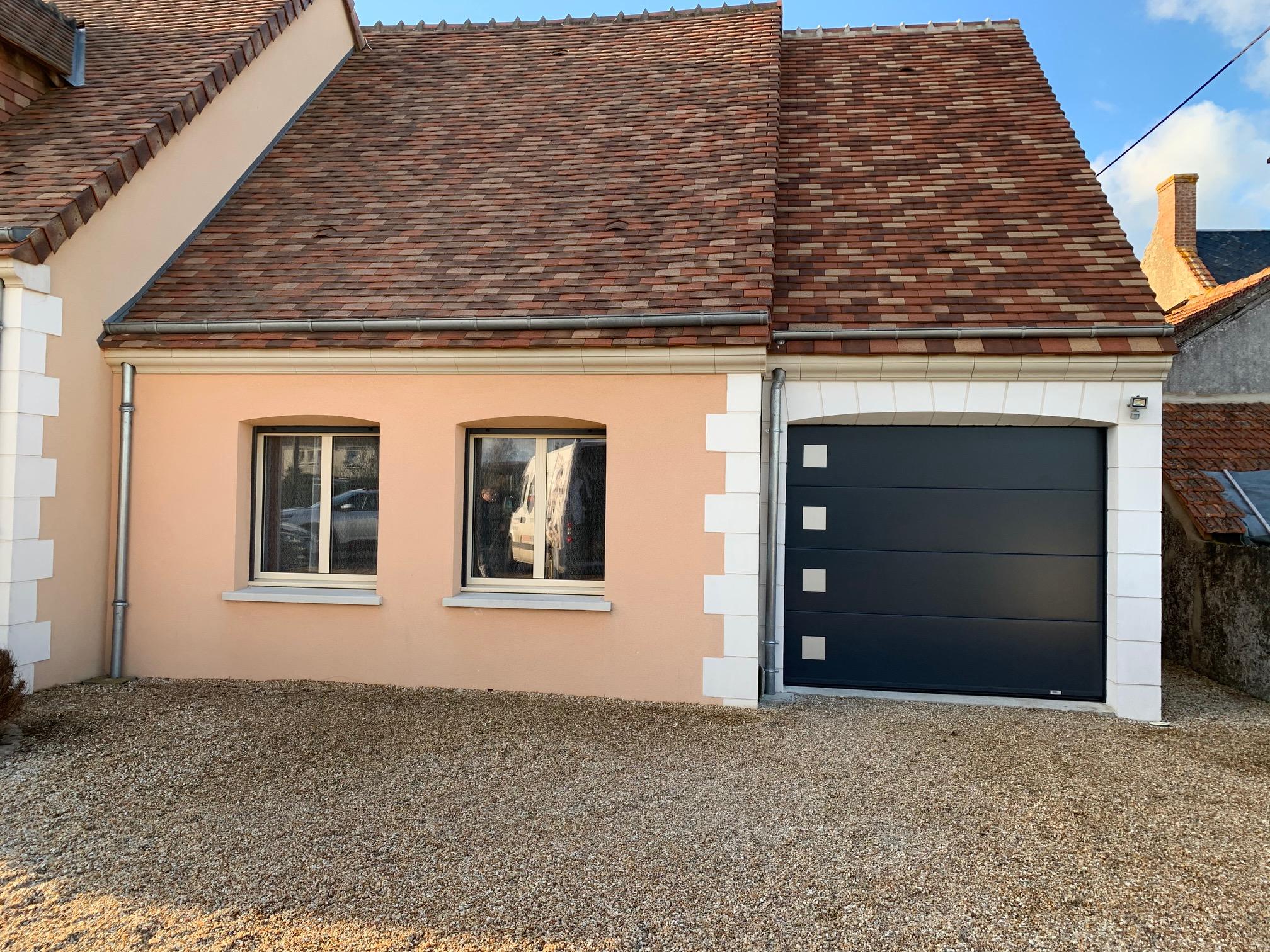 porte de garage blois